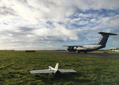 blackstart UAV at Cranfield Airport