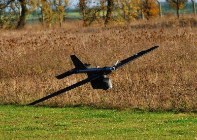 blackstart drone in flight