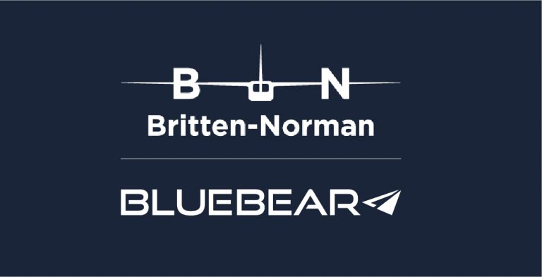 Britten-Norman and Blue Bear Logo