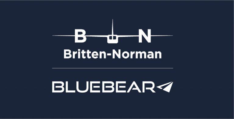 Britten-Norman and Blue Bear Logo